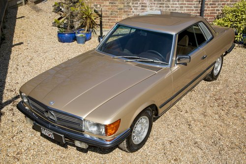 1981 Mercedes-Benz 500 SLC, Only 33,500 miles SOLD (picture 6 of 6)