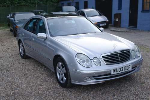 Mercedes E320 CDi Avantgarde. Tip Auto. Hi Spec FSH. Bargain SOLD (picture 1 of 6)