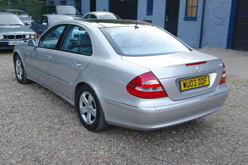 Mercedes E320 CDi Avantgarde. Tip Auto. Hi Spec FSH. Bargain SOLD (picture 6 of 6)