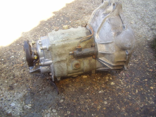 1972 Mercedes W115 manual gearbox  SOLD (picture 1 of 2)