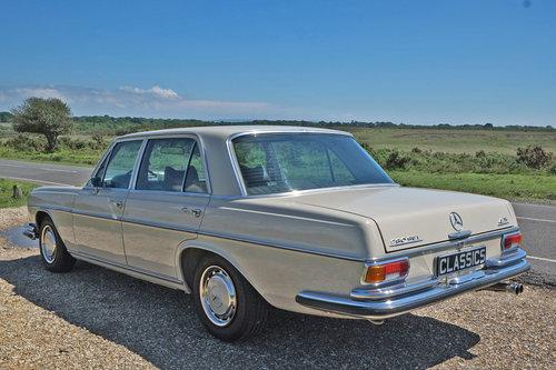1971 Mercedes 280 SEL 4.5 V8 Restored 45k Miles LHD For SOLD (picture 3 of 6)