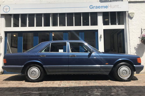1990 Mercedes Benz 420SE - Immaculate condition SOLD (picture 4 of 6)