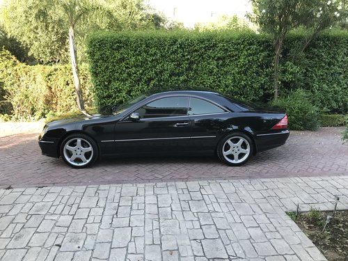 Excelent modern classic cl 500 v8 facelift 2005 For Sale (picture 1 of 6)