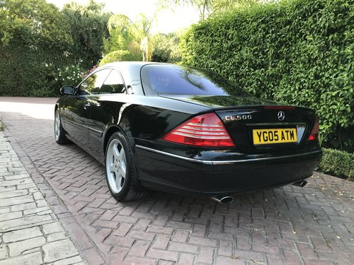 Excelent modern classic cl 500 v8 facelift 2005 For Sale (picture 2 of 6)