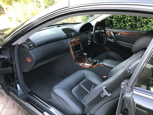 Excelent modern classic cl 500 v8 facelift 2005 For Sale (picture 4 of 6)