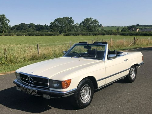 1971 Mercedes Benz 350 SL Automatic SOLD (picture 1 of 6)