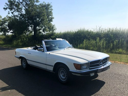 1971 Mercedes Benz 350 SL Automatic SOLD (picture 3 of 6)