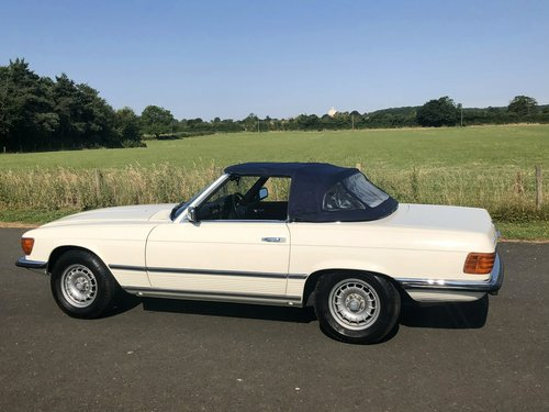 1971 Mercedes Benz 350 SL Automatic SOLD (picture 4 of 6)