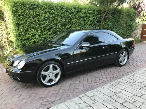 Excelent modern classic cl 500 v8 facelift 2005 For Sale (picture 6 of 6)