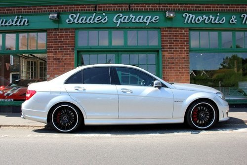2013 Mercedes C63 AMG Saloon  SOLD (picture 1 of 4)