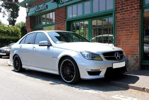 2013 Mercedes C63 AMG Saloon  SOLD (picture 2 of 4)