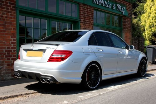 2013 Mercedes C63 AMG Saloon  SOLD (picture 3 of 4)
