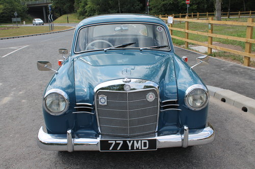 1960 Mercedes Benz Ponton 190b Saloon UK RHD Example SOLD (picture 2 of 6)