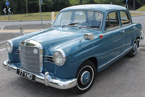 1960 Mercedes Benz Ponton 190b Saloon UK RHD Example SOLD (picture 3 of 6)