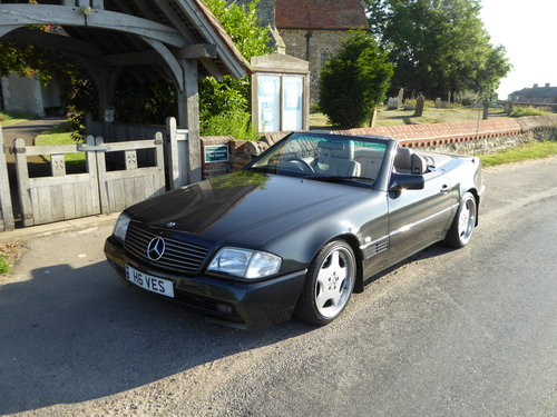 1992 Mercedes sl300 24v auto convertable For Sale (picture 2 of 4)
