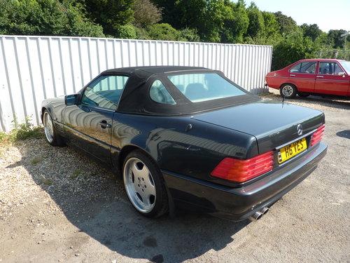 1992 Mercedes sl300 24v auto convertable For Sale (picture 3 of 4)