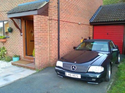 1992 Mercedes sl300 24v auto convertable For Sale (picture 4 of 4)