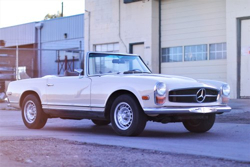 1969 Mercedes-Benz 280sl - Beautiful Driver SOLD (picture 1 of 6)