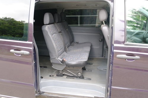 2004 Mercedes Vito Ambiente 111 CDi LWB Panel Van. 5 Seats Diesel SOLD (picture 3 of 6)