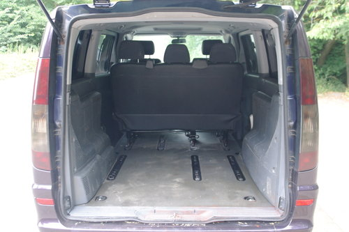 2004 Mercedes Vito Ambiente 111 CDi LWB Panel Van. 5 Seats Diesel SOLD (picture 4 of 6)