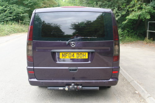 2004 Mercedes Vito Ambiente 111 CDi LWB Panel Van. 5 Seats Diesel SOLD (picture 5 of 6)