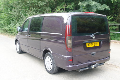 2004 Mercedes Vito Ambiente 111 CDi LWB Panel Van. 5 Seats Diesel SOLD (picture 6 of 6)