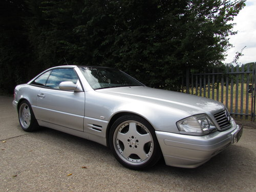 2000 Mercedes SL500 (R129) Low Mileage Only 44k Facelift For Sale (picture 1 of 6)