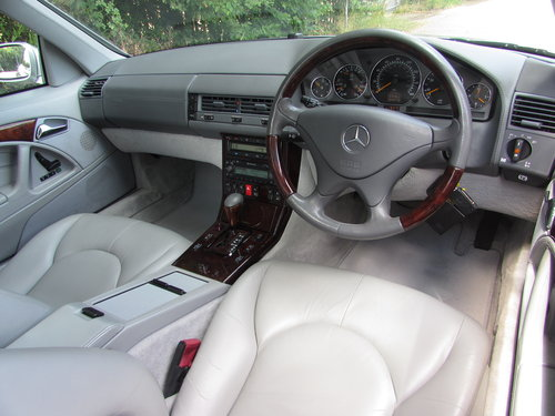 2000 Mercedes SL500 (R129) Low Mileage Only 44k Facelift For Sale (picture 3 of 6)