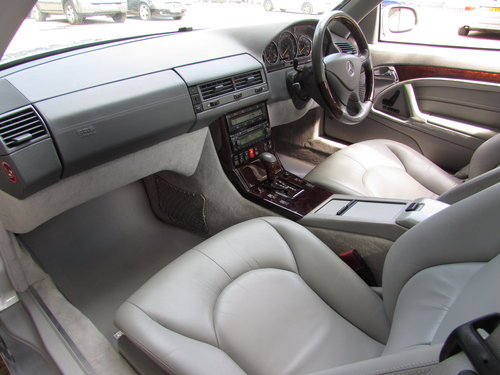 2000 Mercedes SL500 (R129) Low Mileage Only 44k Facelift For Sale (picture 4 of 6)