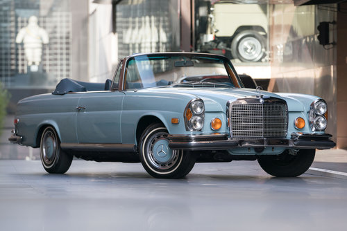 1971 Mercedes 280SE 3.5 Cabriolet LHD SOLD (picture 1 of 6)