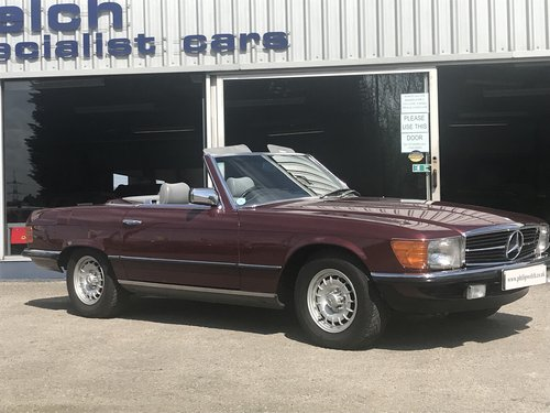 1984 MERCEDES 280SL 107 SERIES ROADSTER WITH HARD & SOFT TOP SOLD (picture 2 of 6)