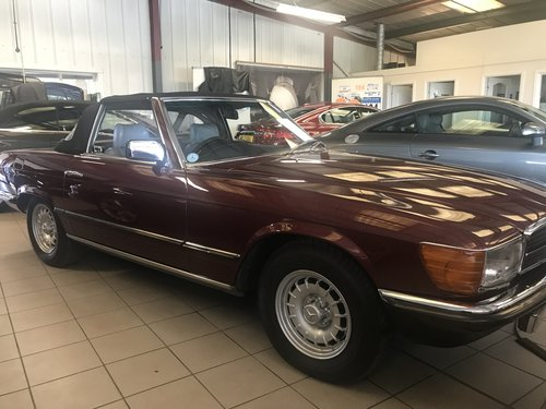 1984 MERCEDES 280SL 107 SERIES ROADSTER WITH HARD & SOFT TOP SOLD (picture 3 of 6)