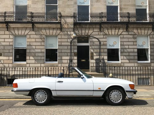1988 MERCEDES 300 SL - SUPERB HISTORY - 64K MILES For Sale (picture 2 of 6)