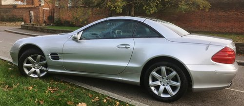 2005 Mrecedes SL350 Automatic 1 Owner FMDSH Low Miles For Sale (picture 3 of 6)