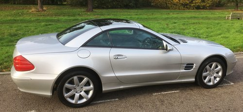 2005 Mrecedes SL350 Automatic 1 Owner FMDSH Low Miles For Sale (picture 4 of 6)