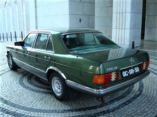 1981 Mercedes-Benz 500 SE (W126) For Sale (picture 2 of 6)