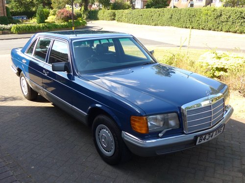 1984 Mercedes 500SEL With Only 64k Miles For Sale (picture 1 of 6)