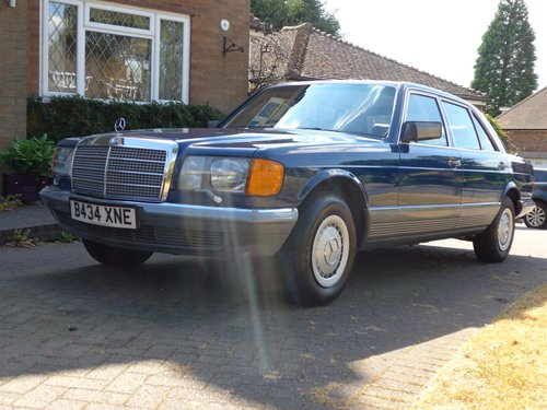 1984 Mercedes 500SEL With Only 64k Miles For Sale (picture 2 of 6)