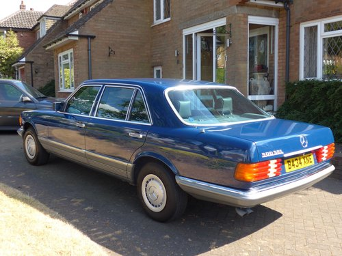 1984 Mercedes 500SEL With Only 64k Miles For Sale (picture 3 of 6)