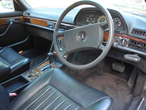 1984 Mercedes 500SEL With Only 64k Miles For Sale (picture 5 of 6)