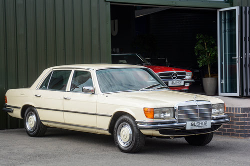 1976 Mercedes-Benz 450 SEL 4.5 V8 (W116) #2029 53k miles For Sale (picture 1 of 6)