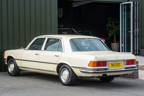 1976 Mercedes-Benz 450 SEL 4.5 V8 (W116) #2029 53k miles For Sale (picture 2 of 6)