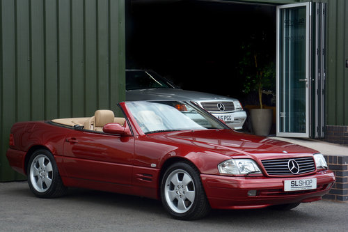 2000 MERCEDES-BENZ SL320 | STOCK #2032 For Sale (picture 1 of 6)