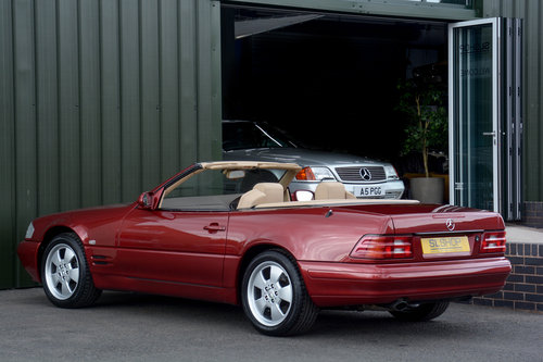 2000 MERCEDES-BENZ SL320 | STOCK #2032 For Sale (picture 2 of 6)