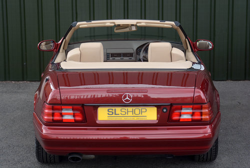 2000 MERCEDES-BENZ SL320 | STOCK #2032 For Sale (picture 3 of 6)