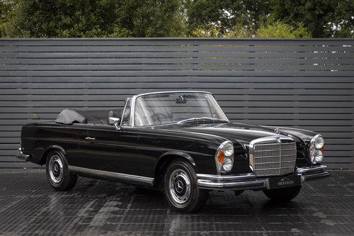 1970 Mercedes 280 SE CABRIOLET 3.5 SOLD (picture 1 of 6)