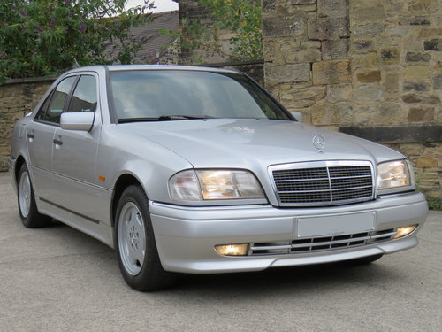 1994 Mercedes W202 C220 Sport - 86K - 1 Owner - AMG - Leather  SOLD (picture 3 of 6)