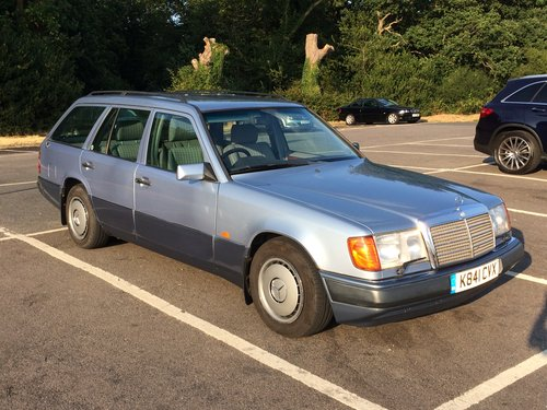 1992 W124 Estate 230TE - price reduced SOLD | Car And Classic