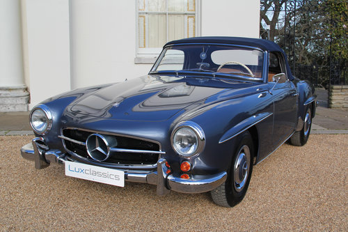 1961 Mercedes-Benz 190SL Concours Restored SOLD For Sale (picture 1 of 6)