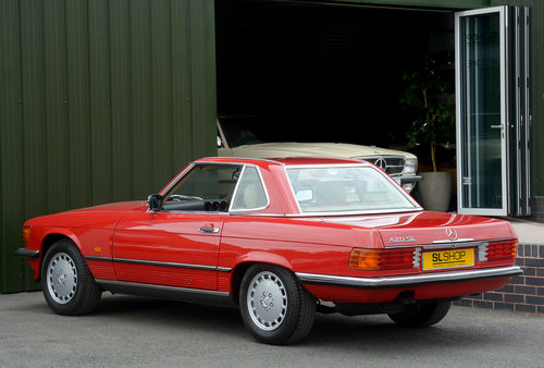 1988 MERCEDES-BENZ 420 SL | STOCK #2003 For Sale (picture 6 of 6)